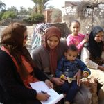 Picture of research work in Egypt